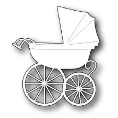 Форма  98528  для Вырубки Baby Carriage