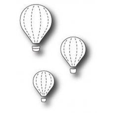 Форма  99472  для Вырубки Floating Balloon Trio