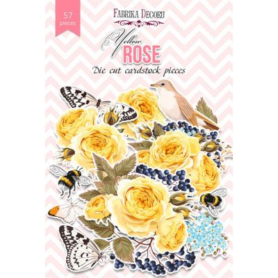 Набор  FDDCS-04105  Высечек Yellow Rose