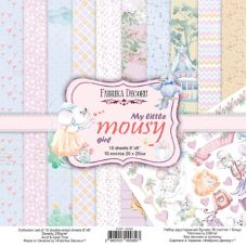 Набор  FDSP-02089  Бумаги My Little Mousy Girl